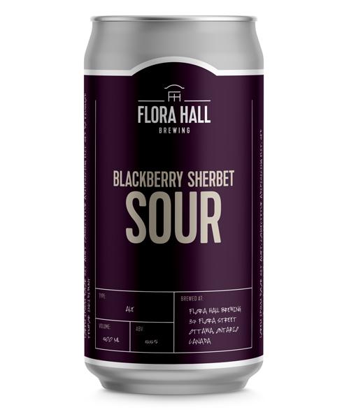 Blackberry Sherbet Sour