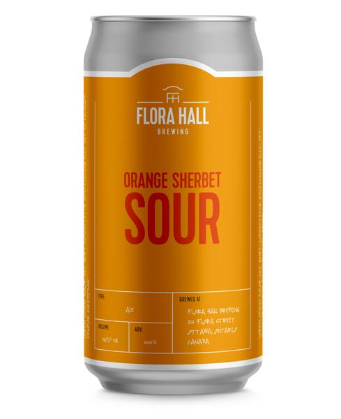 Orange Sherbet Sour