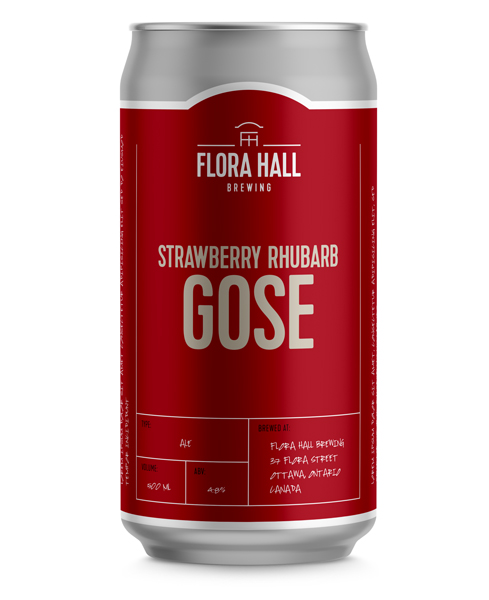 Strawberry-Rhubarb Gose